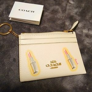 Coin purse with ID & card holder